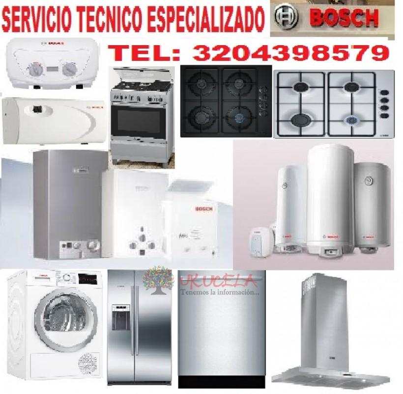 SERVICIO TECNICO ESPECIALIZADO DE CALENTADORES BOSCH TEL 3204398579