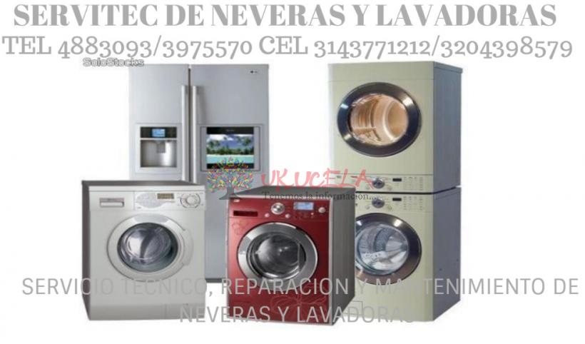 REPARACION DE NEVERAS HACEB TEL 3143771212