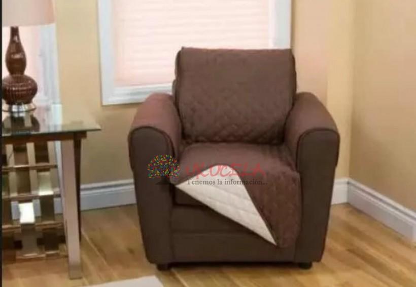 Forro Protector Cubre Sofa Doble Faz