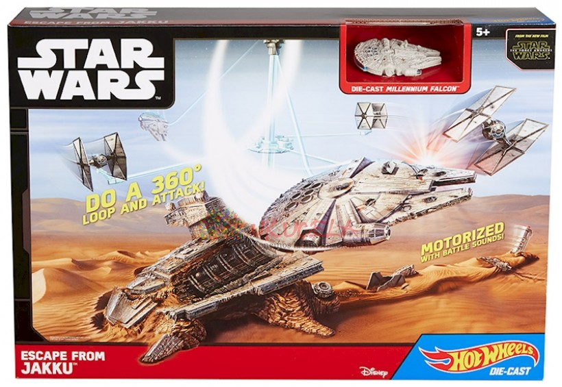 Pista Star Wars Escape From Jakku Star Wars