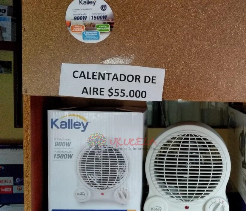CALENTADOR DE AMBIENTE KALLEY PARA ALCOBA 1 AÑO DE GARANTIA