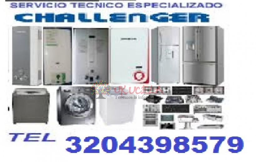 SERVICIO TECNICO ESPECIALIZADO DE CALENTADORES CHALLENGER TEL 3204398579