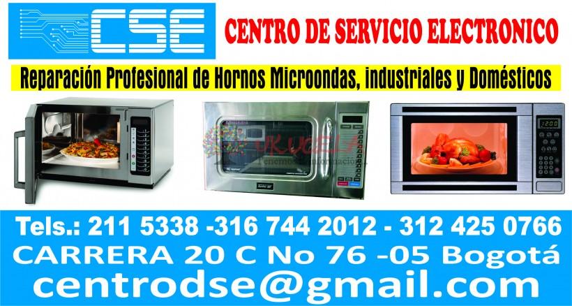 Reparación y mantenimiento de hornos microondas. Industriales y domesticos Clu 3124250766