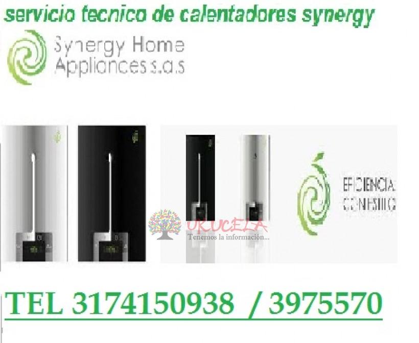 SERVICIO TECNICO ESPECIALIZADO DE CALENTADORES SYNERGY TEL 3174150938