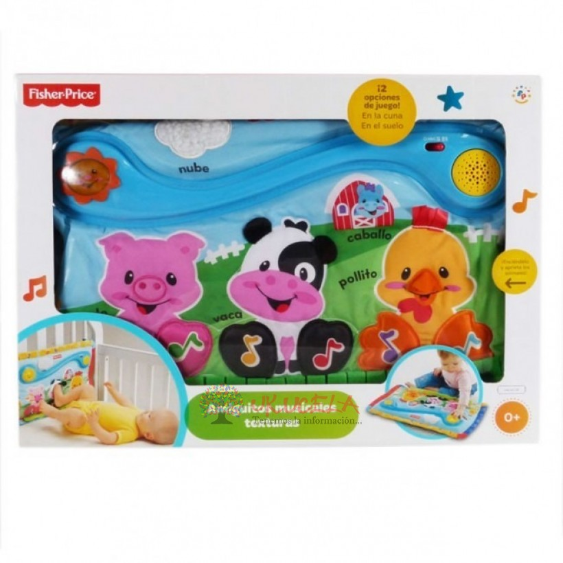 Amiguitos Musicales Texturas De Fisher Price