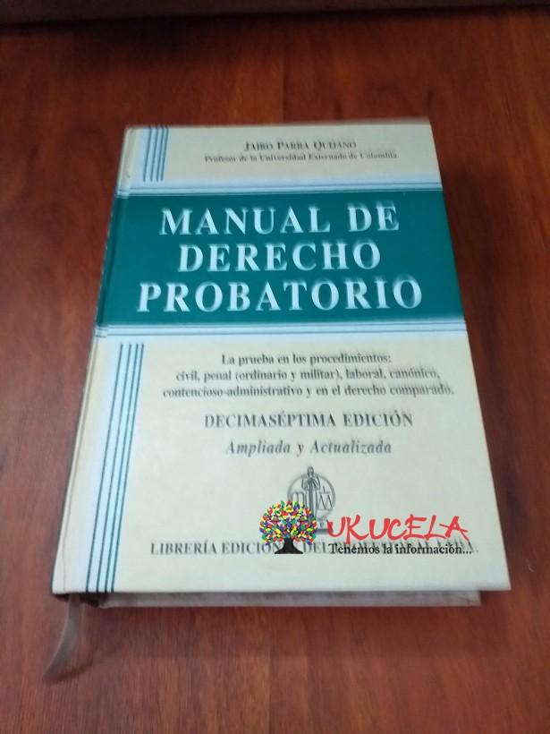 Manual de Derecho Probatorio