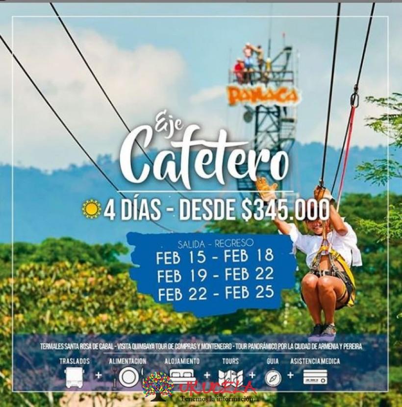 excursión EJE CAFETERO ¡salidas todos los martes y viernes del año!