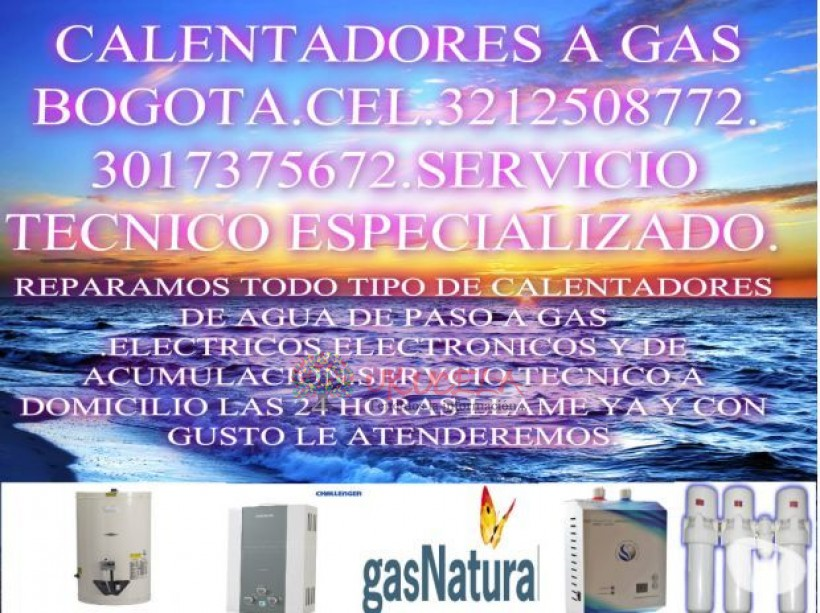 Reparacion de calentadores cimsa.3212508772