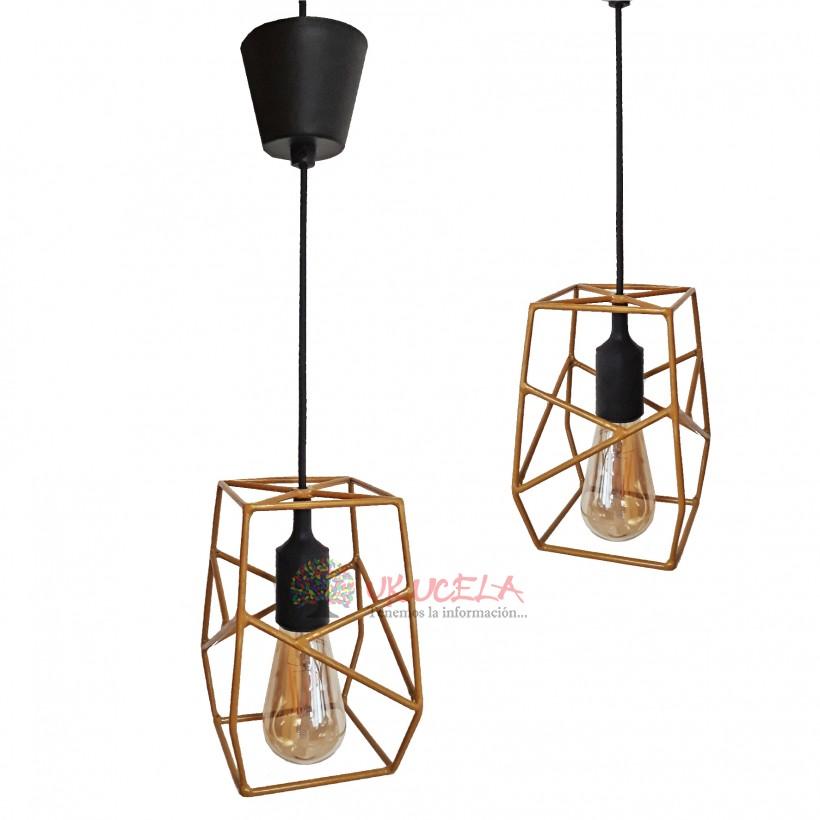 Lámpara de Techo Vintage - Industrial