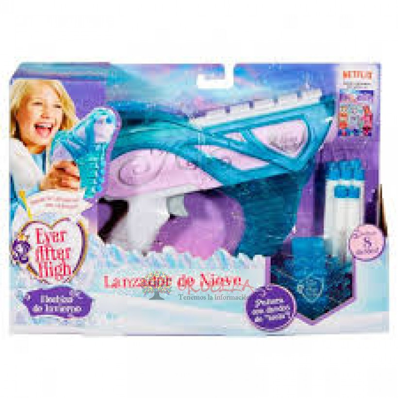 Boomco Lanzador Ever After  High Lanzadora De Nieve.