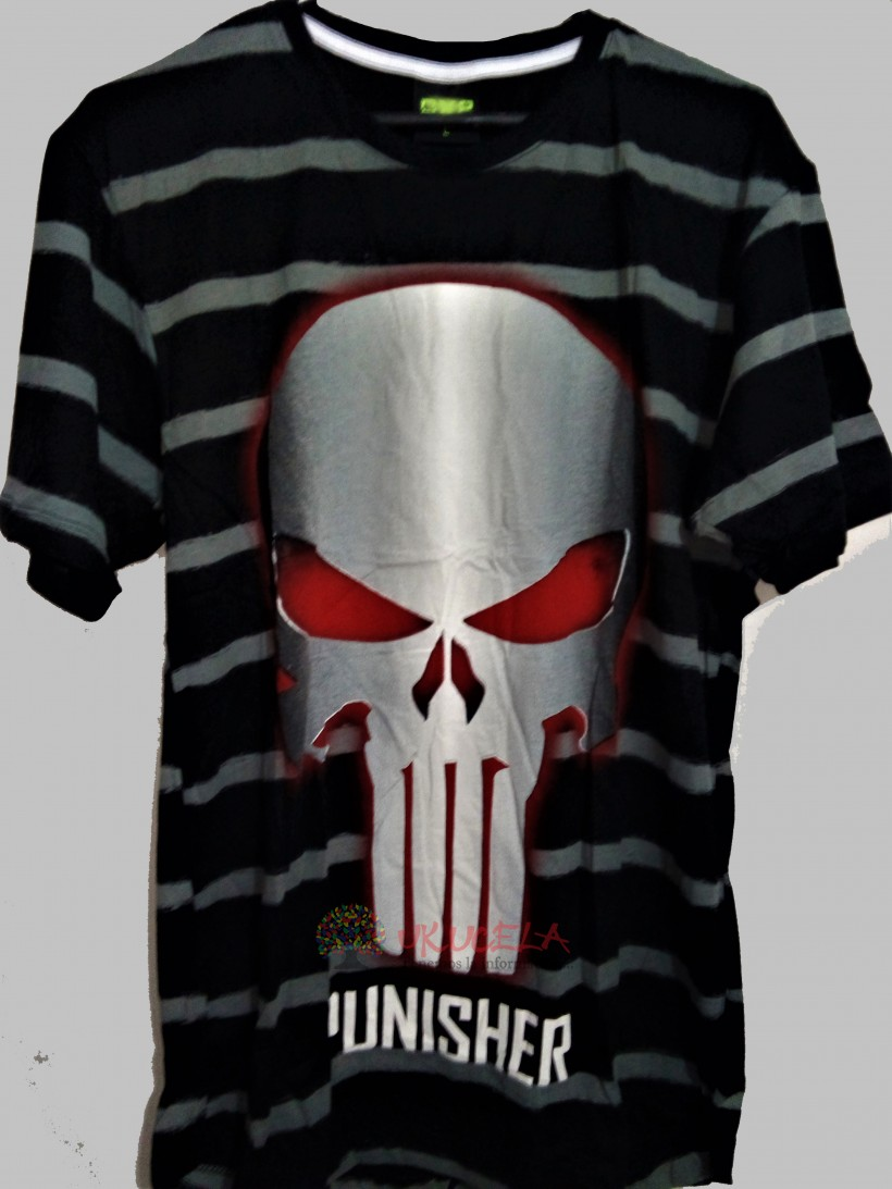 CAMISETA PARA HOMBRE ESTAMPADA -PUNISHER