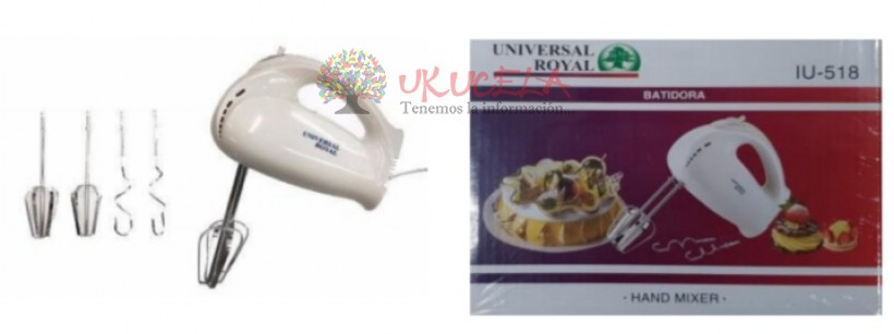 Batidora Universal Royal 7 Velocidades 150w