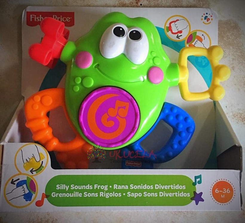 Rana Sonidos De Fisher Price