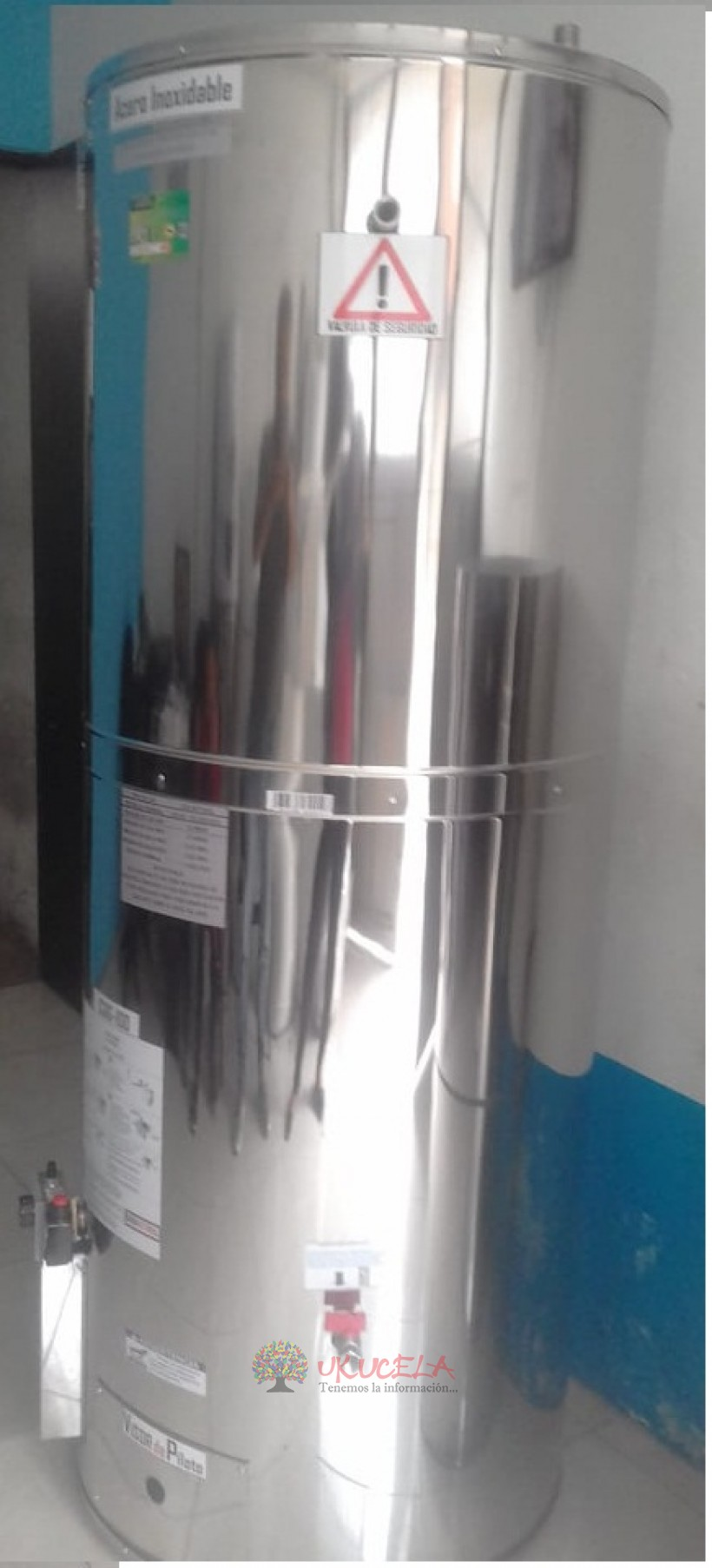 CALENTADORES EN ACERO INOXIDABLE A GAS Y ELECTRICOS TEL 31741509838