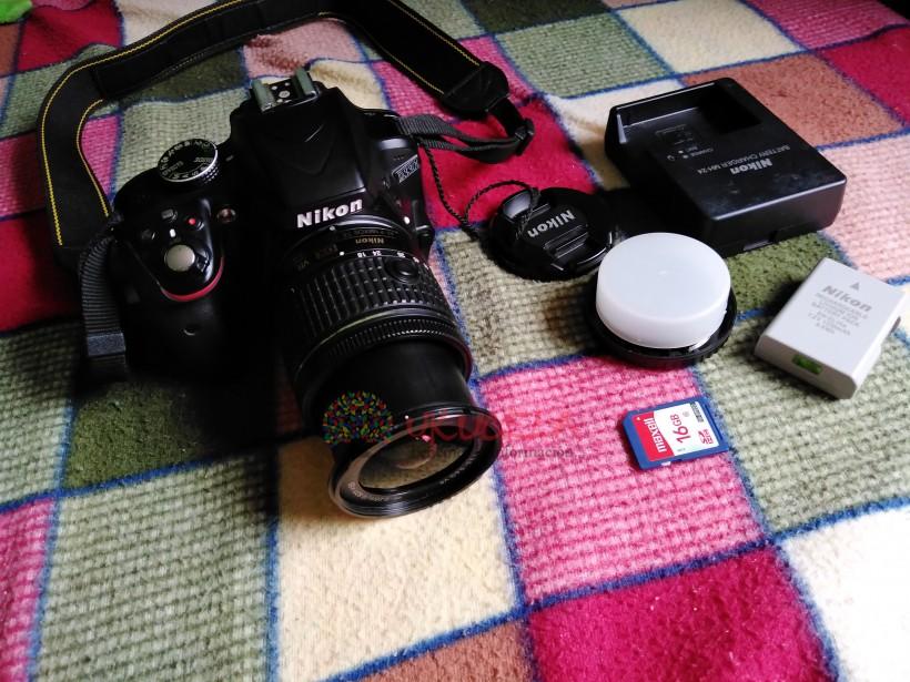 Vendo cámara profesional marca Nikon en excelente estado y con poco uso