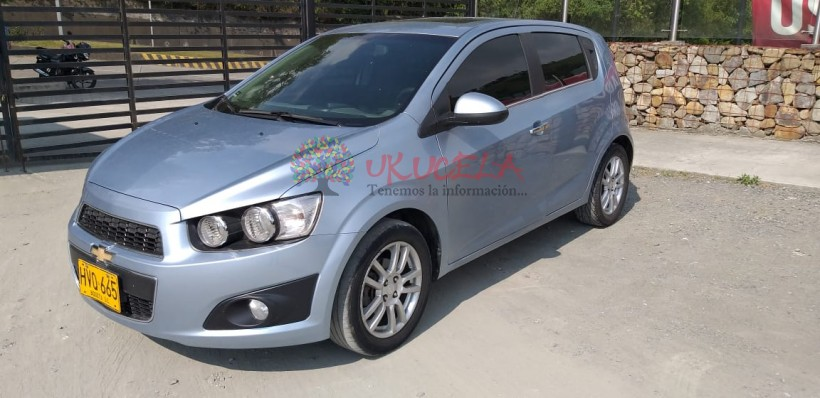 CHEVROLET SONIC HB LT AT 2013 MANIZALES
