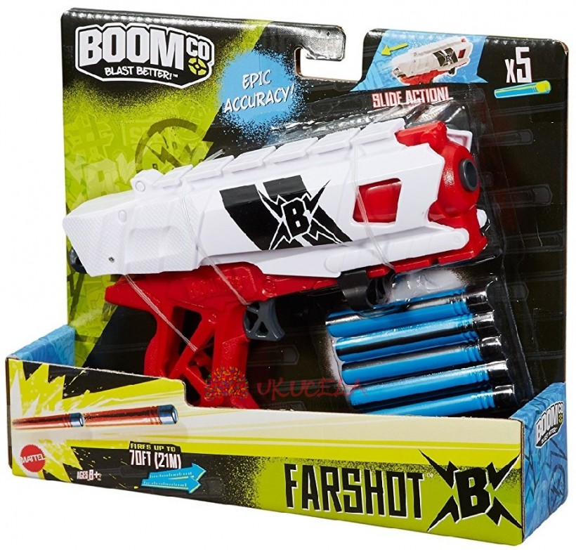 Boomco Lanzador Farshot B Rojo Y Blanco.