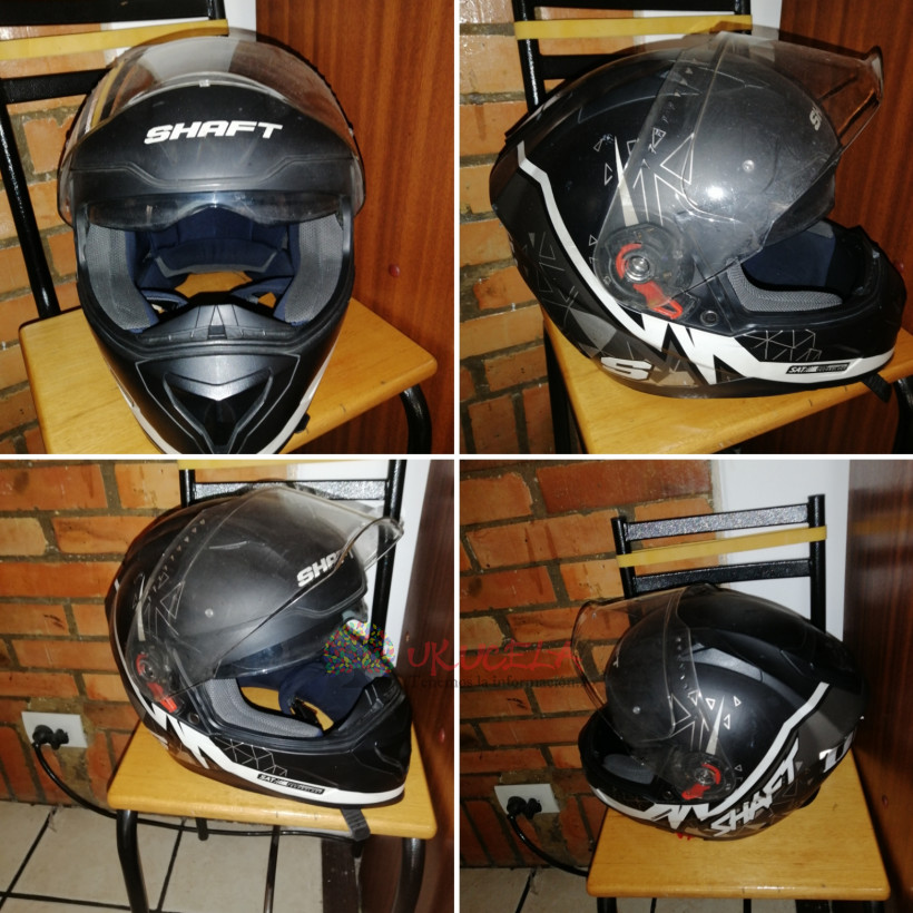 Casco shaft usado