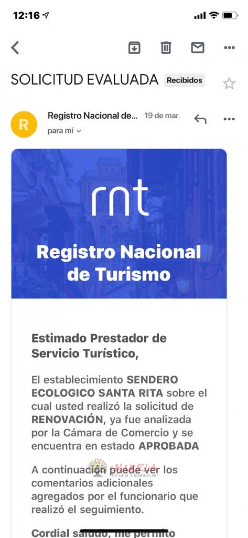 SANTA RITA LA CASCADA TE INVITA A CONOCER NUESTROS SENDEROS ECOLÓGICOS