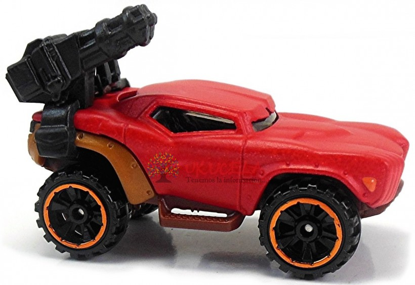 Hot Weels Marvel Carro Red Hulk Dc.