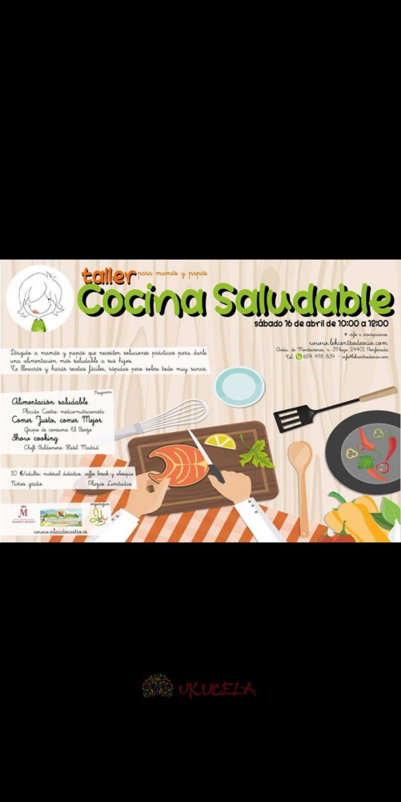 Taller de cocina saludable Alta cocina Gratis