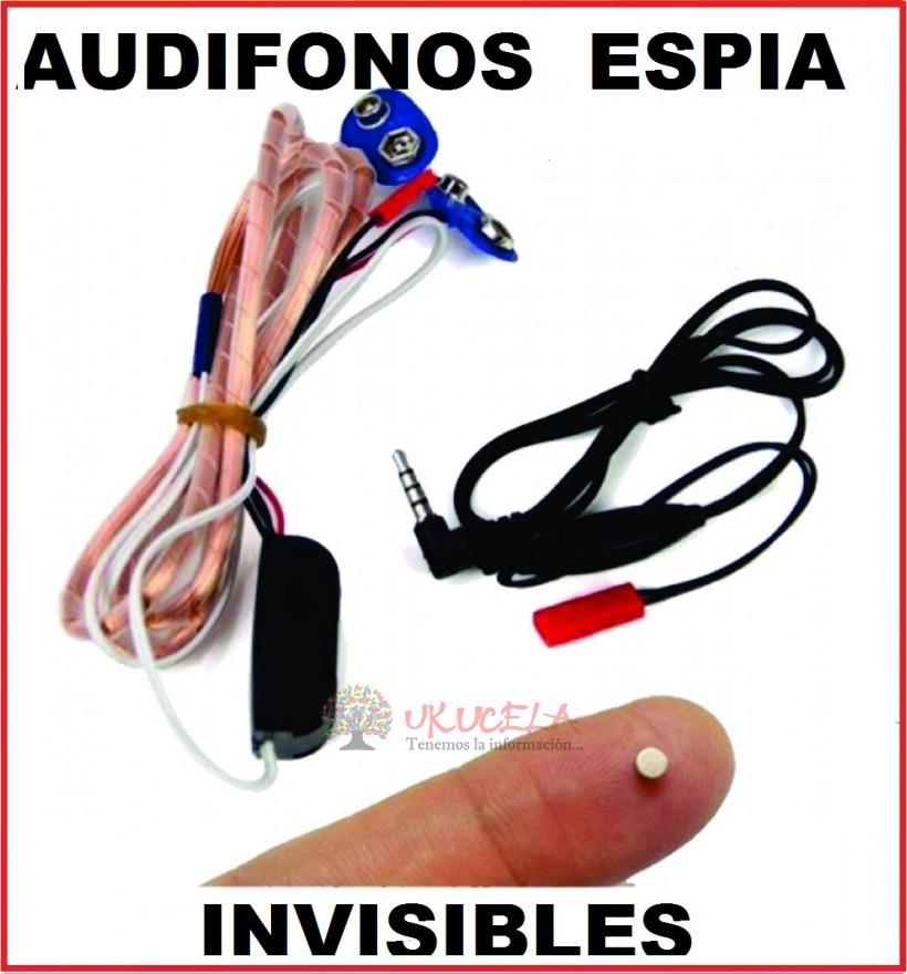 MICRO AUDIFONOS ESPIA CON NANOAUDIFONOS