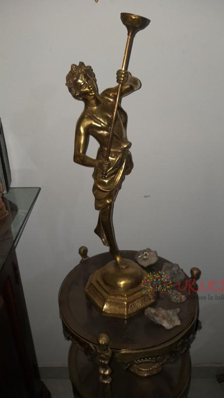 Dios mercurio em bronce