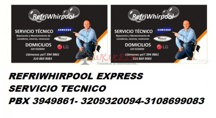 reparacion y mantenimiento de lavadoras neveras 3209320094 3949861