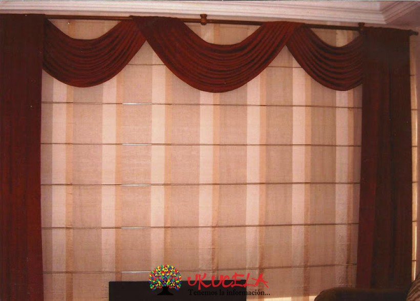instalacion de  toda clase de cortinas