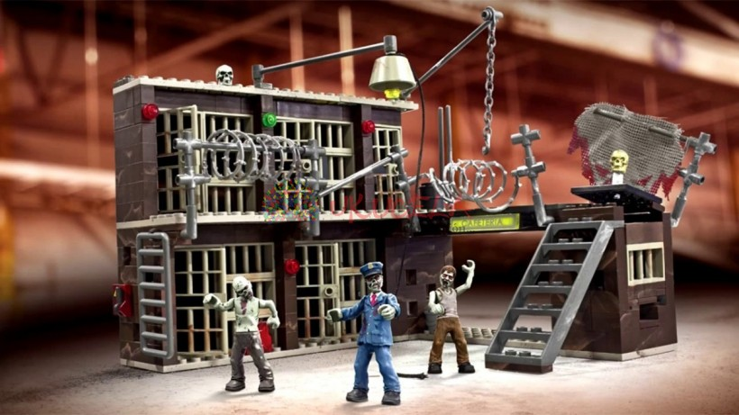 Mega Bloks Call  Of Duty Turba De Los Muertos.