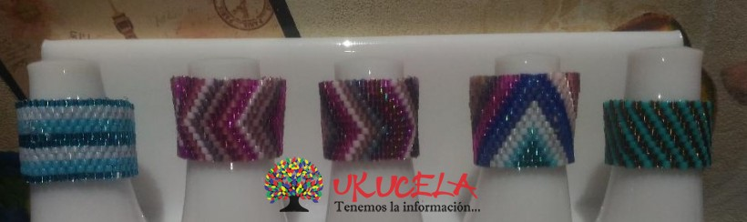 Anillos Cristales Japoneses