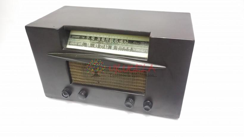 RADIO ANTIGUO TUBOS GENERAL ELECTRIC U.S.A. 1920 FUNCIONAL