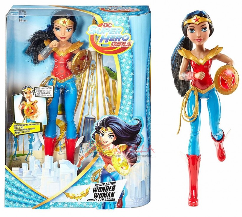Super Hero Girl Wonder Woman De Mattel