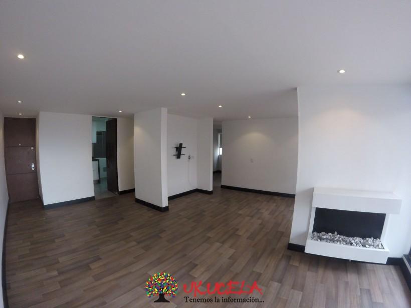 Se vende hermoso apartamento piso 12 en Ciudad Salitre