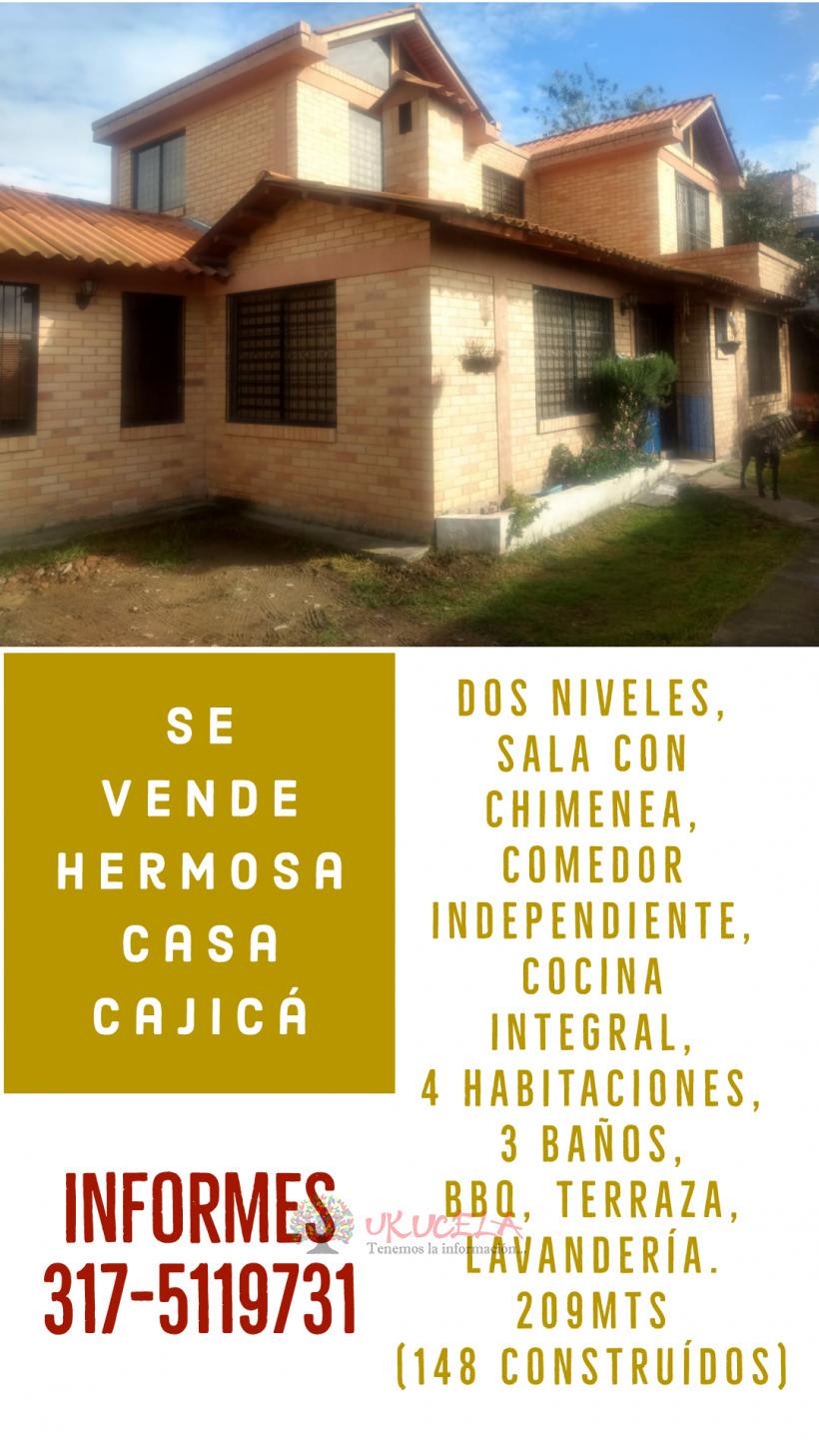 HERMOSA CASA CAMPESTRE EN CAJICA !
