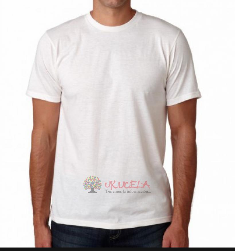 Camisetas  blancas en algodón publicitarias súper precio por mayor