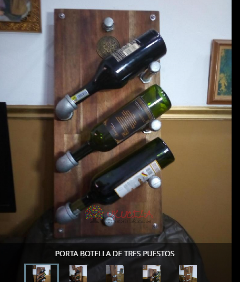 porta licor  botellas original