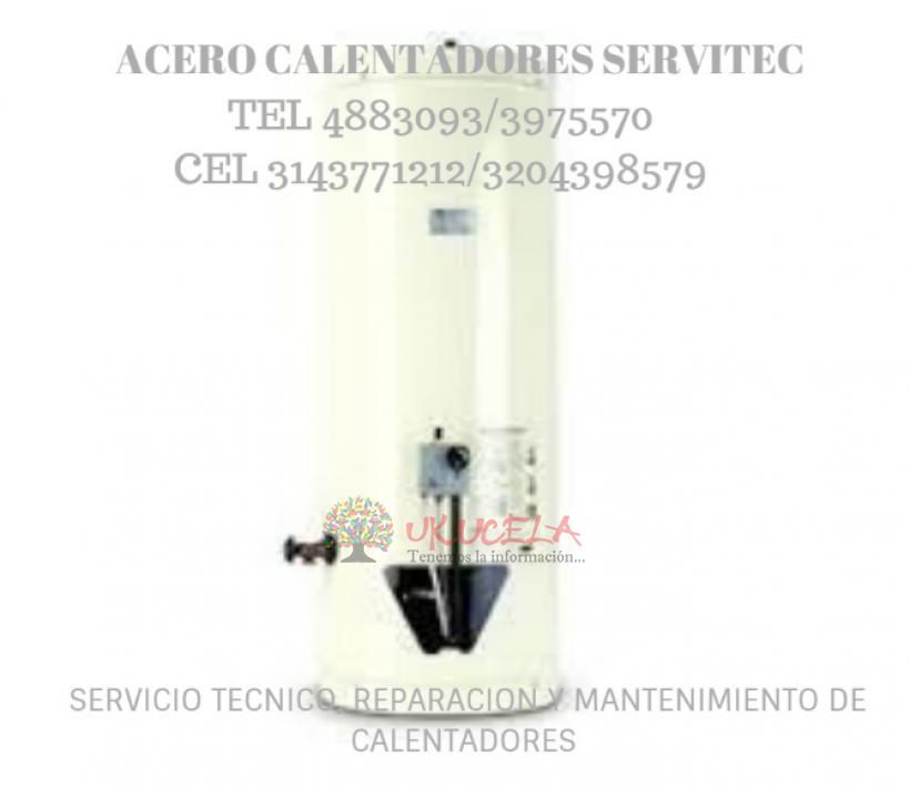 SERVICIO TECNICO ESPECIALIZADO DE CALENTADORES HACEB TEL 3143771212