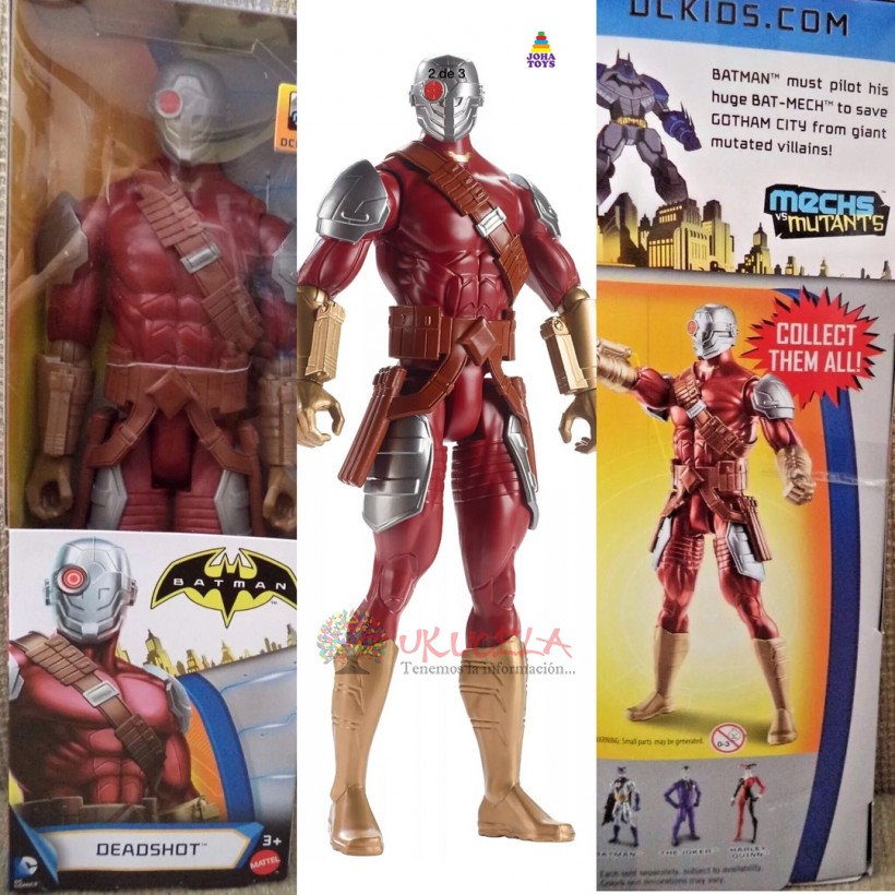 Deadshot De Batman Original De Mattel.