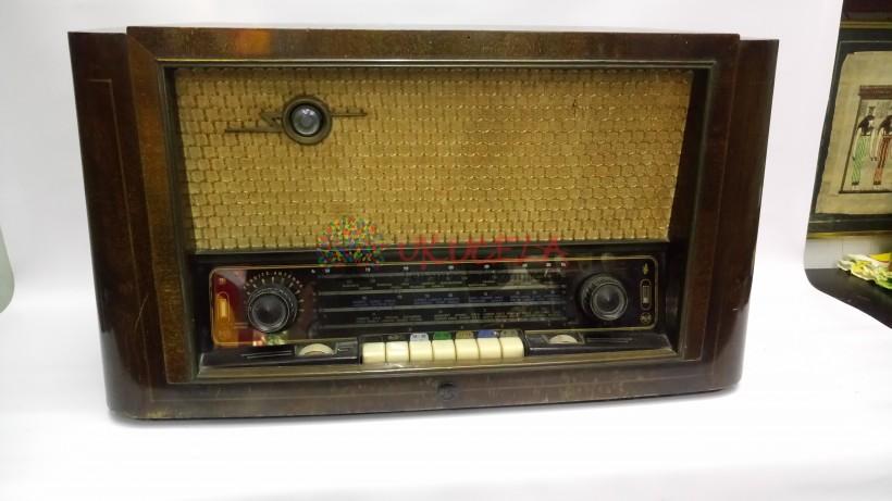 RADIO ANTIGUO DE TUBOS RCA VICTOR 1920
