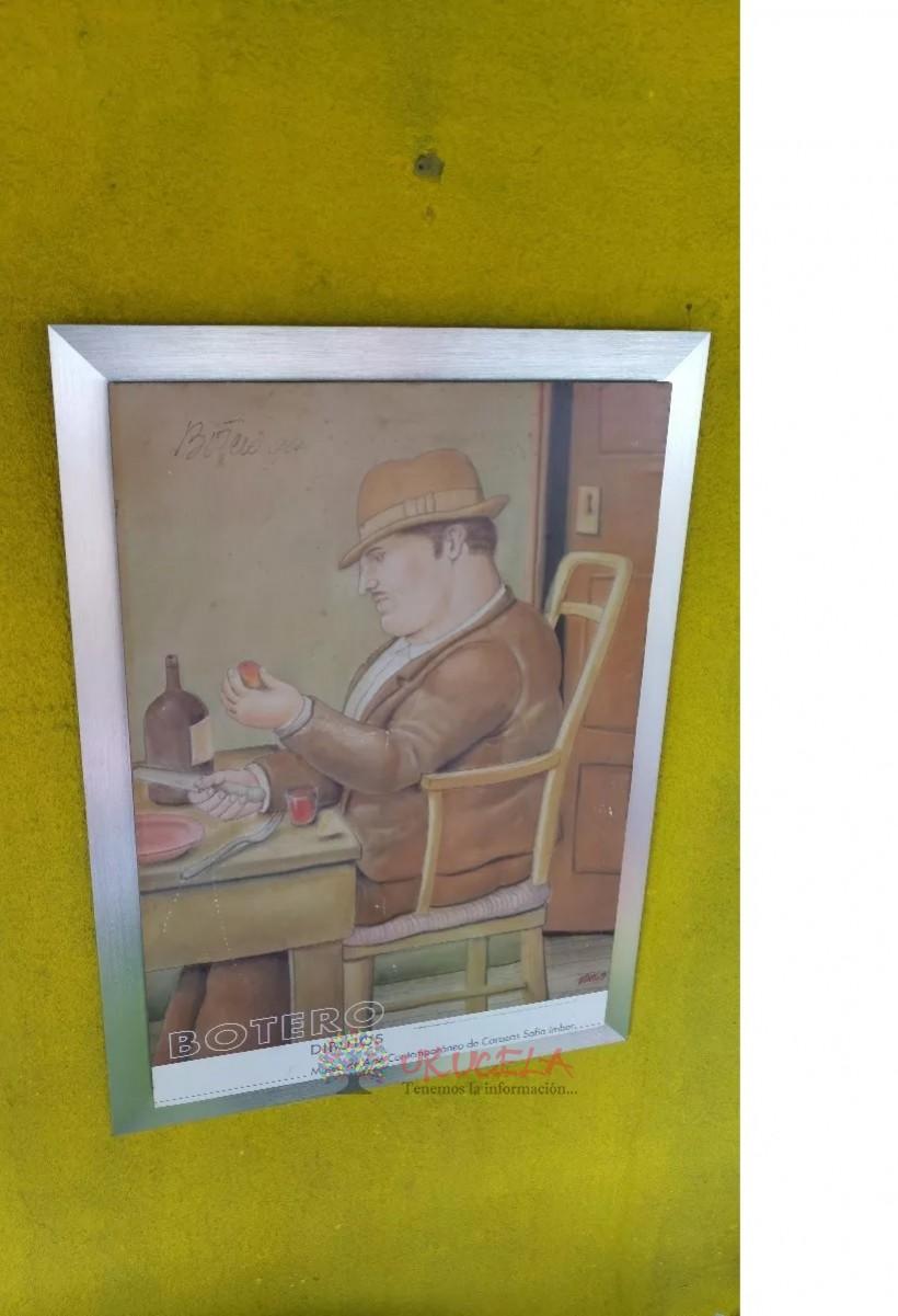 Cuadro Litografia De Botero Firmada Por El Artista
