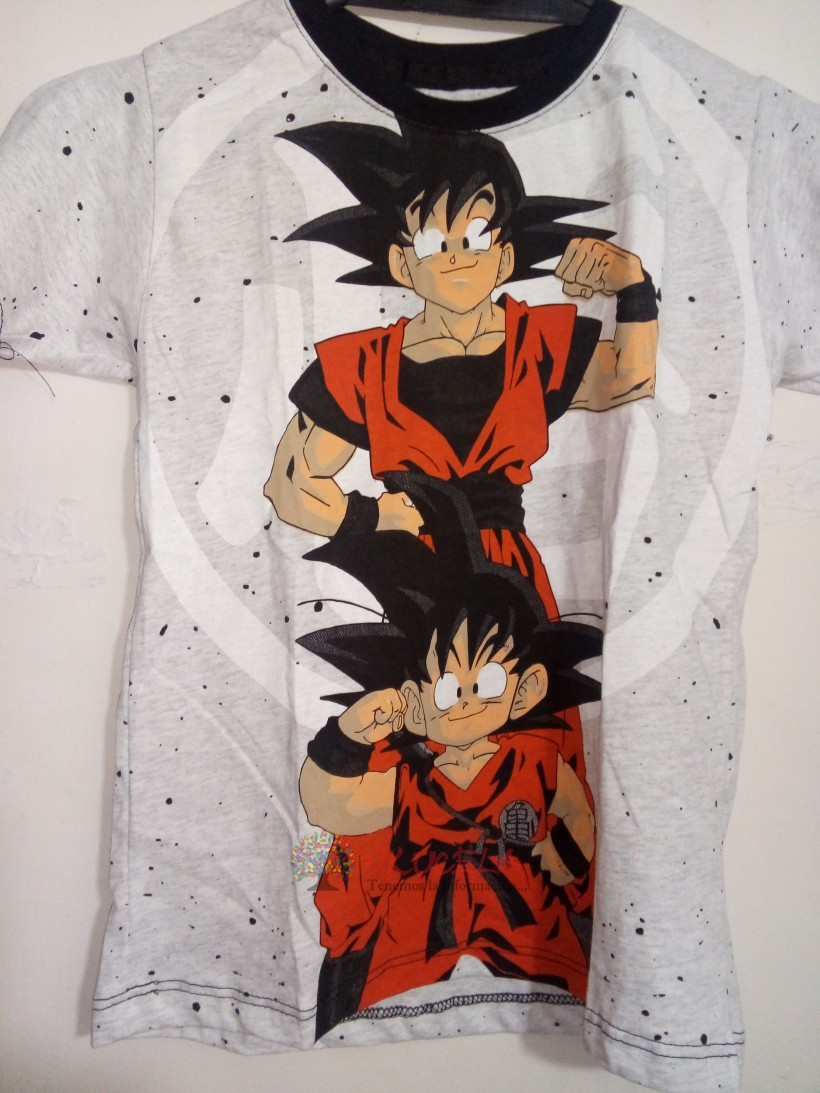 CAMISETA PARA NIÑO ESTAMPADA - DRAGON BALL