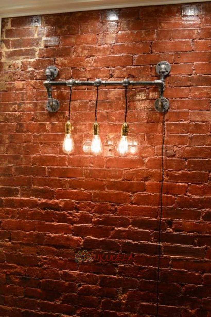 lampara de pared original bombillo edison