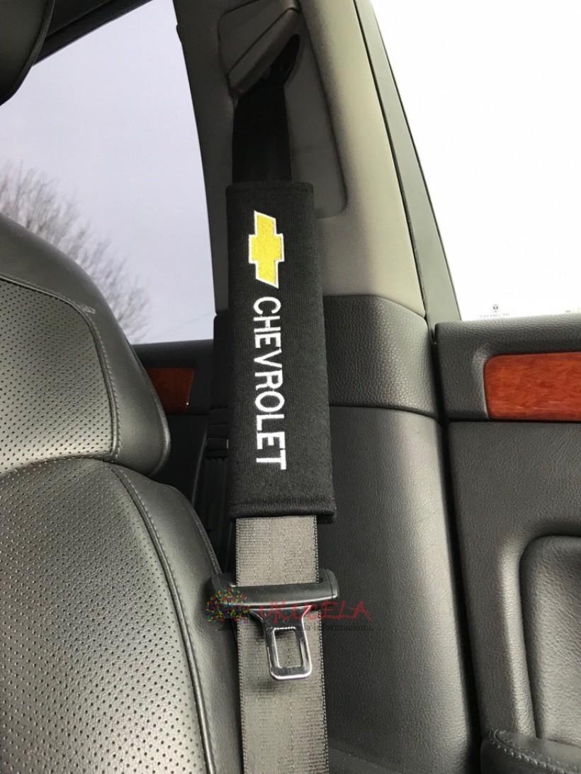 almohadilla o protector de cinturon de seguridad chevrolet