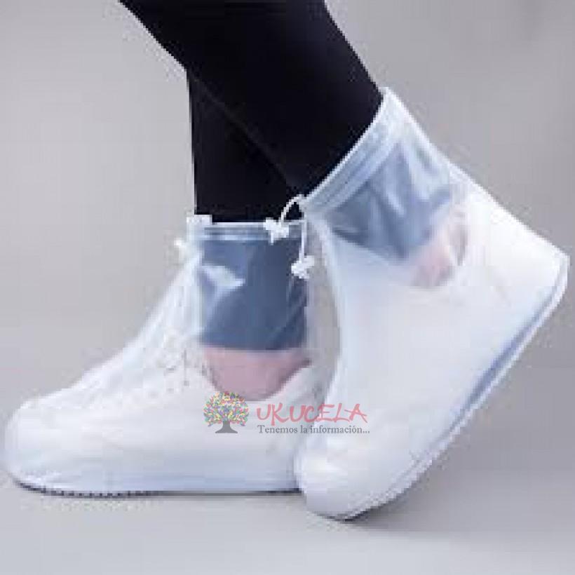 protector de zapatos para lluvia
