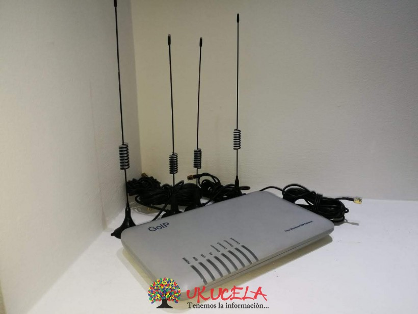 VENDO ANTENA GOLP 4-PORT GB DESKTOP SWITCH
