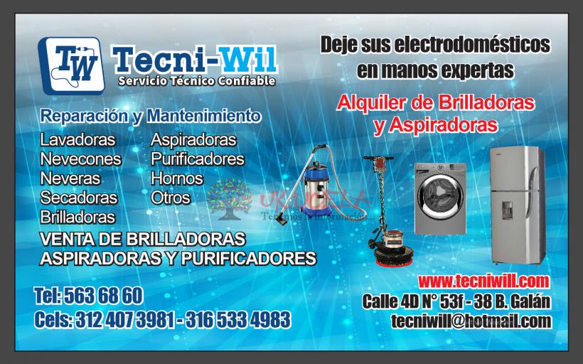 REPARACION DE LAVADORAS Y NEVERAS  tel - ws  3166973625