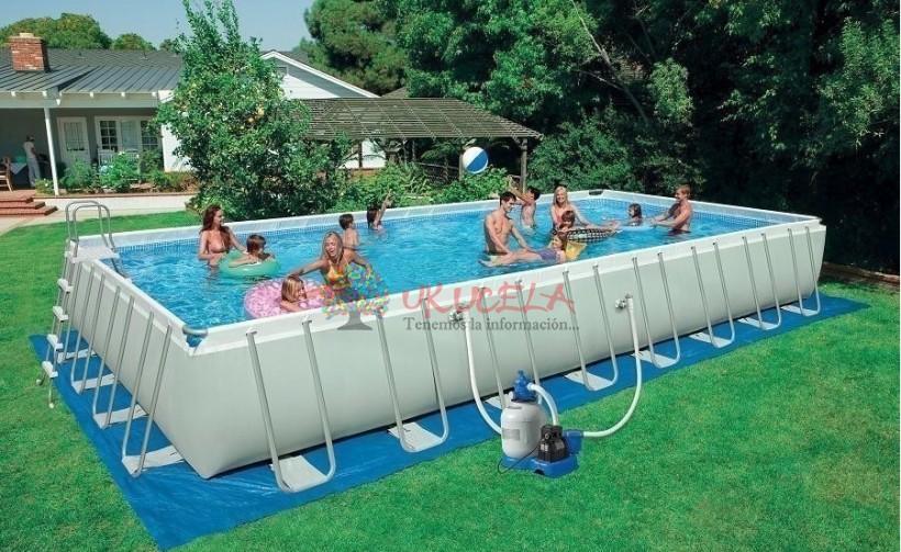 venta de piscinas estructurales rectangulares