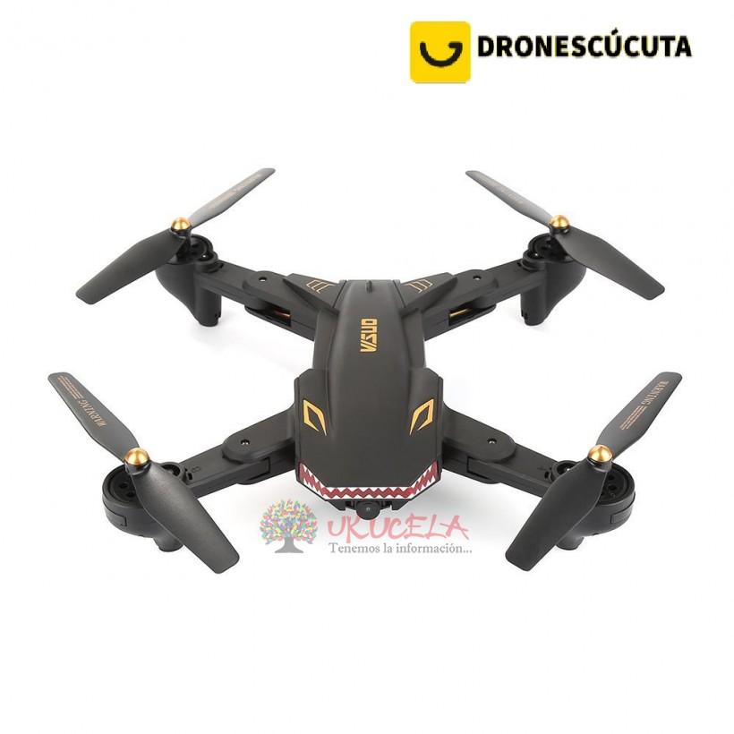 Drones Tianqu Visuo Xs809s Tiburon Camara 720p + 18min Vuelo