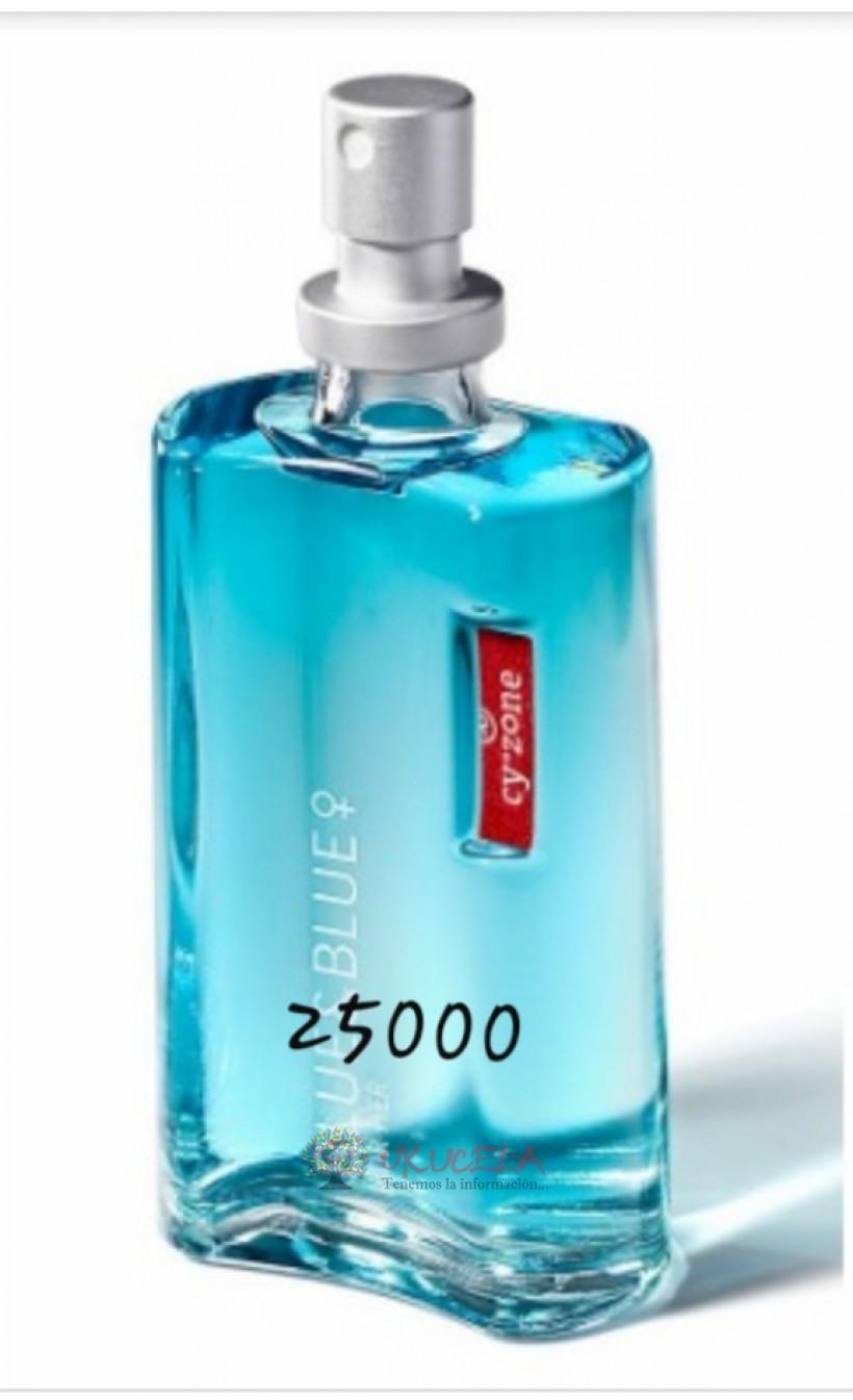 Blue y blue mujer
